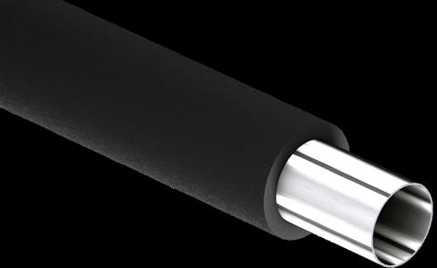 Nichtbrennbare Rohre mit FEF-Isolierung