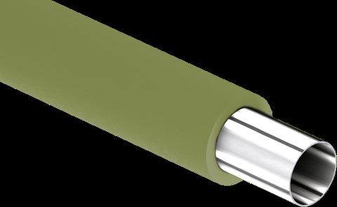 Nichtbrennbare Rohre mit Mineralfaserisolierung